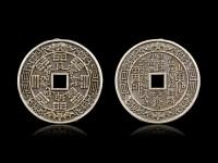 50 Chinesische Münzen - Lucky Feng Shui