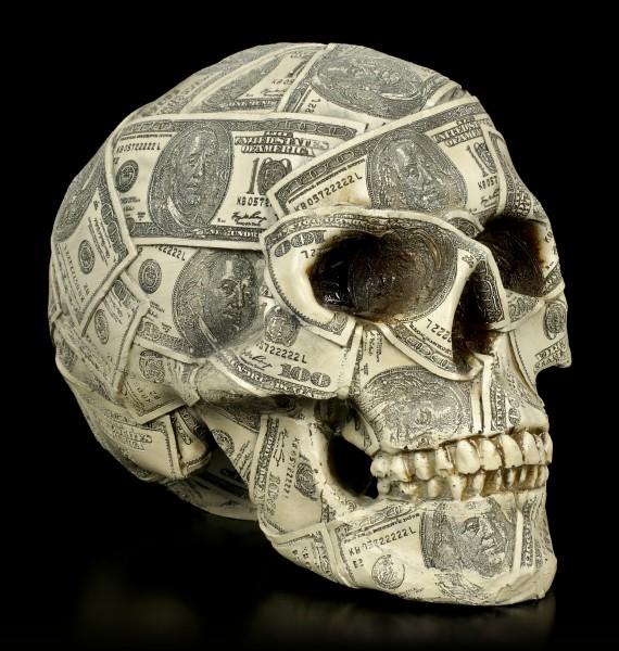 Money Bank Skull - Made of Money