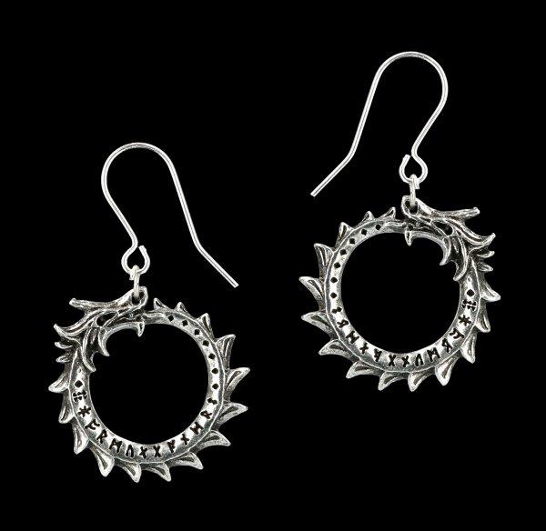 Alchemy Viking Earrings - Jormungand