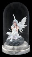 Fairy Figurine within Glass Bell Jar LED - Alvi