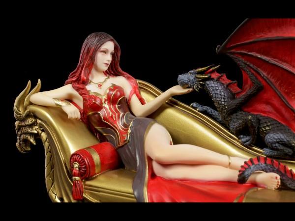 Drachen Figur mit Prinzessin - Dragon Companion