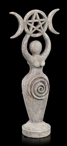 Spiral Göttin Figur - Steinoptik