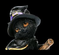 Small Witches Cat Figurine - Tabitha