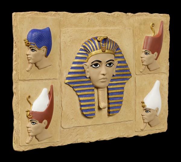 Wandrelief - Pharao Kronen