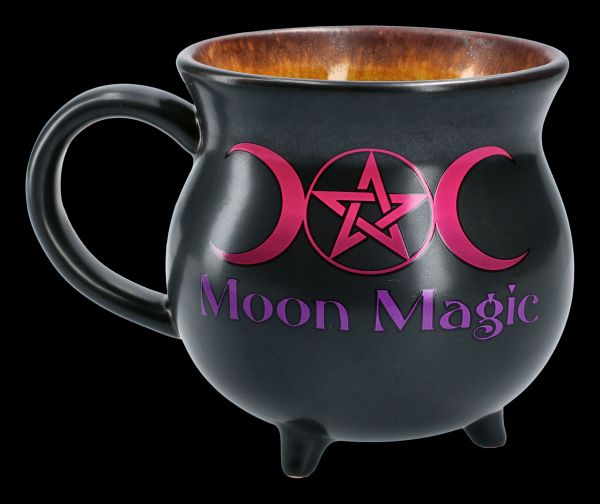 Witch's Cauldron XXL - Mug Bowl - Moon Magic