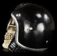 Totenkopf mit schwarzem Helm - The Enforcer