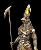Horus Figur - Krieger mit Zepter