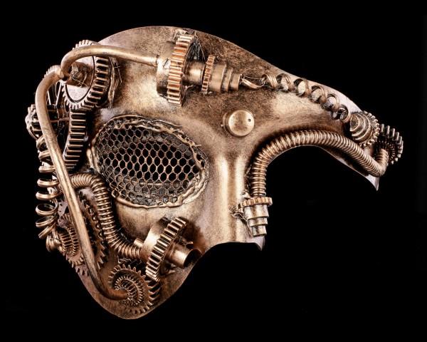 Steampunk Mask - Barred Eye
