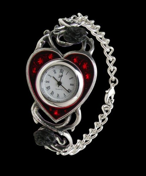 Alchemy Gothic Armbanduhr - Bed Of Blood Roses