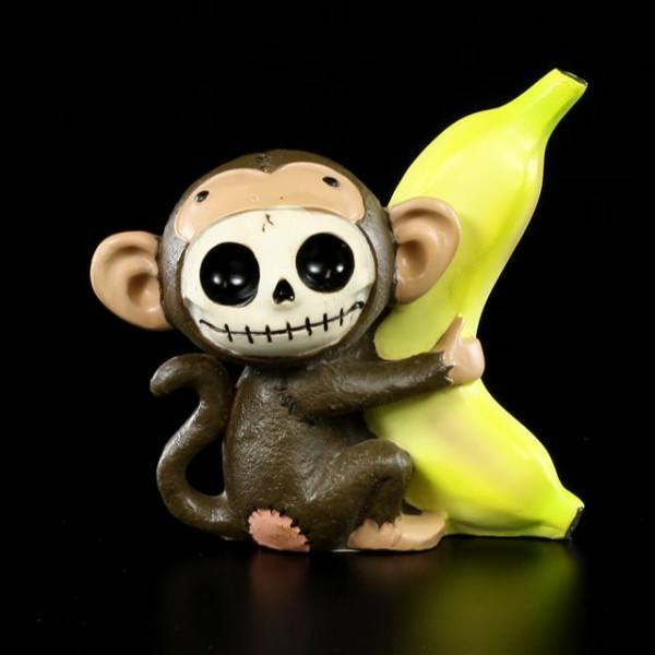 Furry Bones Figur - Munky