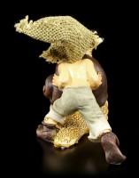 Pixie Goblin Figurine with Snail - Let's Go!