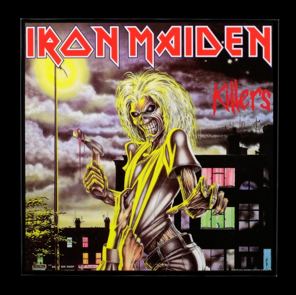 Iron Maiden Crystal Clear Picture - Killers