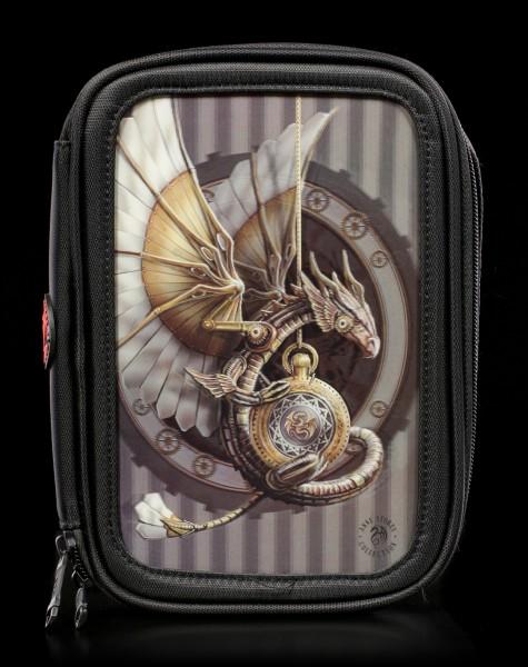 Großes 3D Federmäppchen - Clockwork Dragon