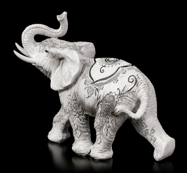 Elephant Figure - Henna Hope