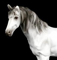 Weiße Pferde Figur
