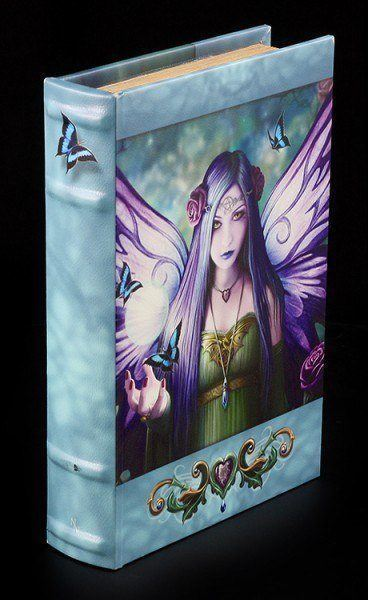 Buch Schatulle - Magische Elfe