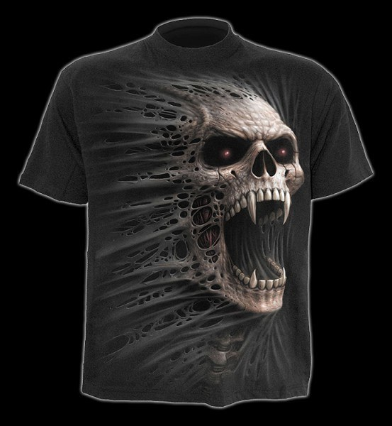 T-Shirt - Vampir Totenkopf - Cast Out