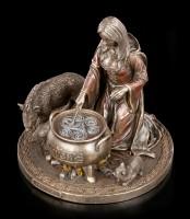 Ceridwen Figur - Keltische Gottheit der Fruchtbarkeit