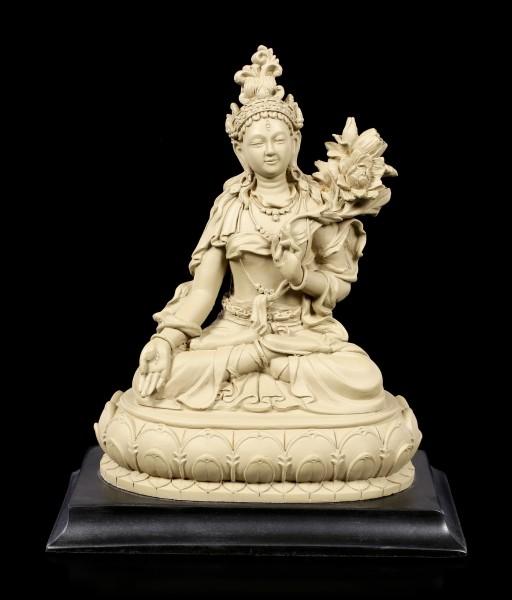 Buddha Figurine - Bodhisattva White Tara