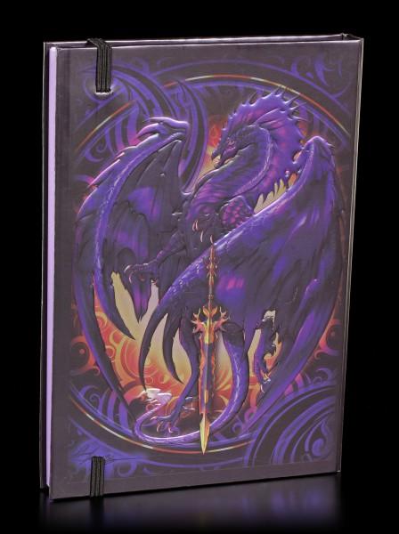 Hardback Dragon Journal - Nether Blade