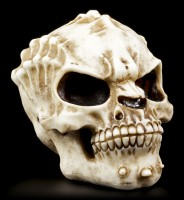 Totenkopf - Alien Invader - Knochenfarben