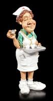 Krankenschwester Figur hält Tablett - Funny Jobs