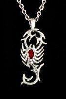 Tribal Scorpion Necklace