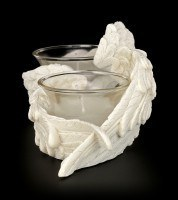 Angel Tealight Holder Set - Wings