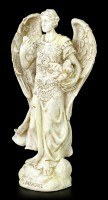 Kleine Erzengel Figur - Barachiel - Weiß