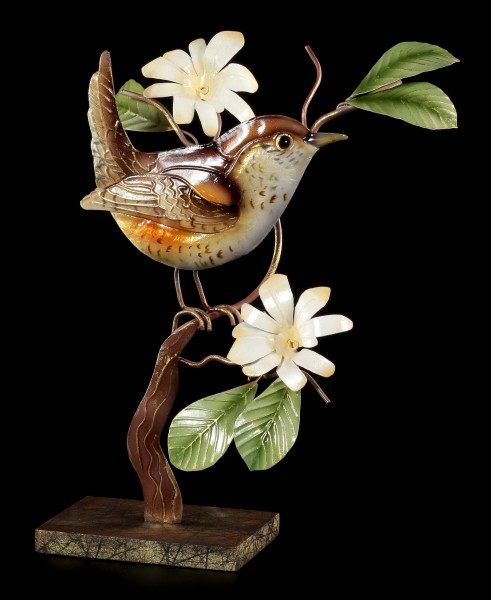 Metall Figur - Kleiner Vogel