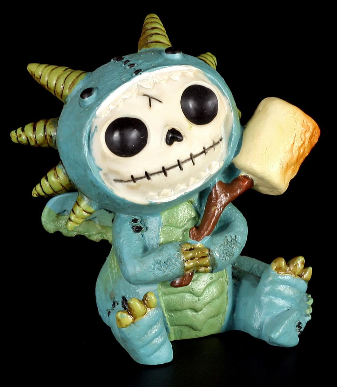 Dragon Scorchie - Furry Bones Figurine