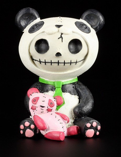 Pandie - Large Furry Bones Figurine