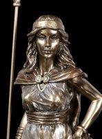 Freya Figur - bronziert