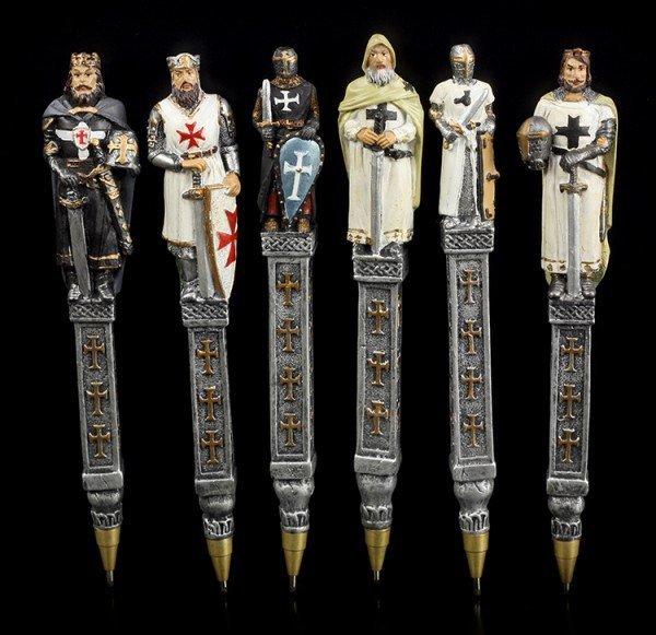 Kugelschreiber Kreuzritter - 6er Set