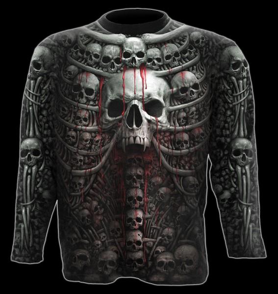 Death Ribs - Skulls Longsleeve