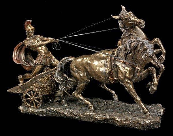 Römer im Streitwagen - groß