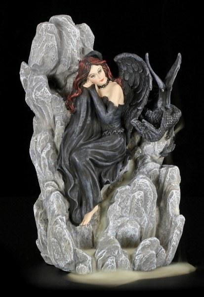 Backflow Incense Cone Burner - Dark Angel