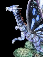 Dragon Figurine - Papilio with Butterfly Wings