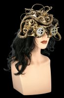 Steampunk Mask - Dark Cyber Mind
