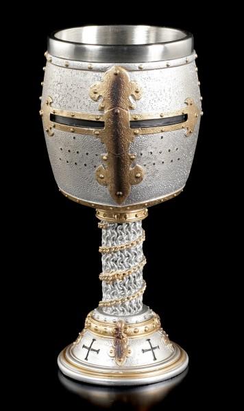 Ritter Kelch - Kreuzritter Helm