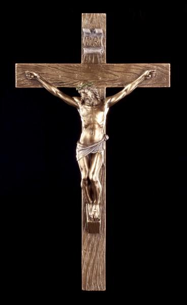 Wandrelief Kruzifix - Jesus am Kreuz
