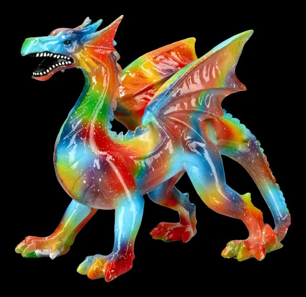 Rainbow Dragon Figurine