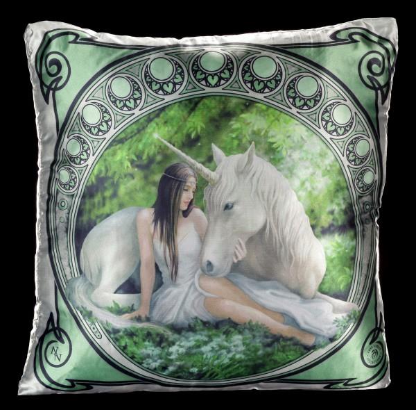 Großes Kissen mit Einhorn - Pure Heart
