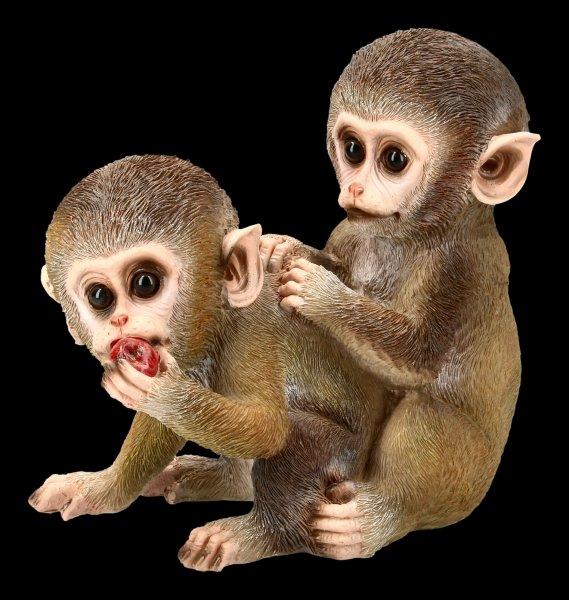 Garden Figurine - Monkey Babies