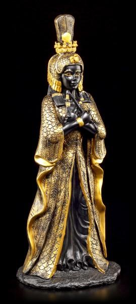 Kleopatra Figur - schwarz-gold