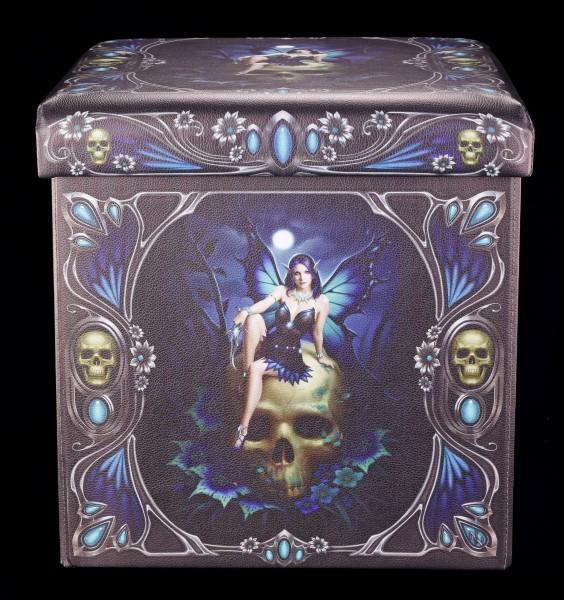 Aufbewahrungsbox mit Sitzmöglichkeit - Skull Fairy