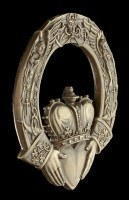Wall Plaque - Celtic Claddagh Ring