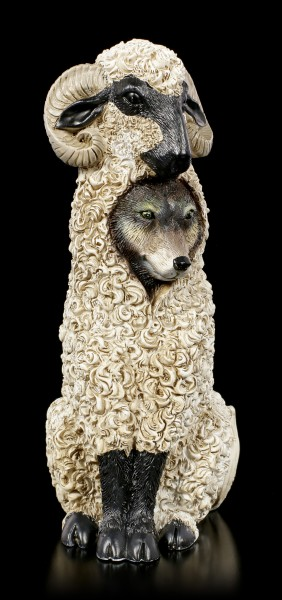 Dupers Figurine - Wolf in Sheep's Clothing