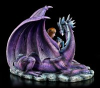 Dragon Figurine with Fairy - Mothers Love