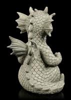 Small Garden Figurine - Lucky Dragon Yogi
